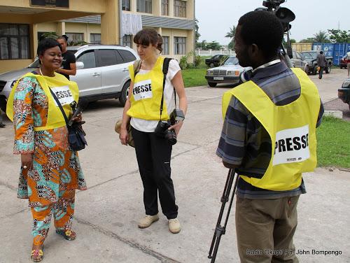 Journaliste congolais