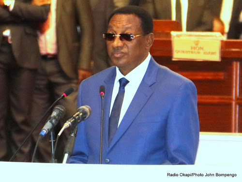 Bruno Tshibala au parlement