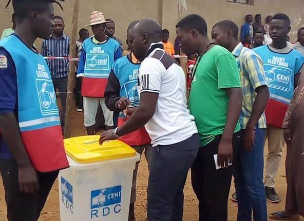 Vote improvisé à Beni